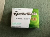 Taylormade Project (a) Golf Balls - 12 (1 dozen) New