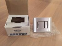 Grohe Skate Cosmopolitan flush plate. NEW in box. £65