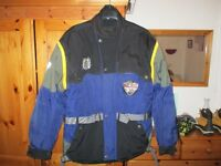 Blue delta motorcycle jacket XL good condition