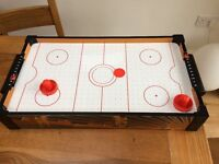 Children's table air hockey