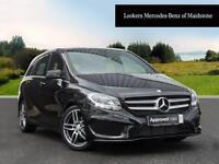 Mercedes-Benz B Class B 180 D AMG LINE (black) 2017-05-11