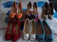 Ladies high heels size 7