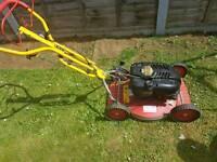Petrol mower