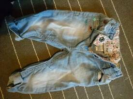 NEXT Girls 3-6 month jeans
