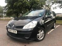 2007 Renault Clio 1.2l Petrol with 9+ months MOT
