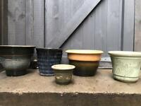 Bundle of pots, job lot £20