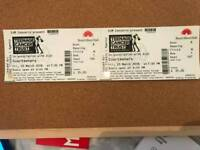 Courteeners Tickets x2 - Royal Albert Hall - Friday 23rd March