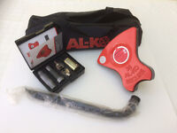 ALCO Caravan Lock Number 38 - As New - Unregistered - Only Used 4 Days