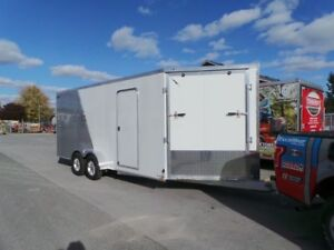 2019 Lightning LTFES718TA2 Drive In Drive Out Snow Mobile Traile
