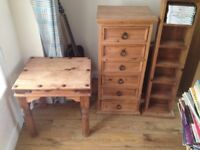 Mexican Pine Rustic Furniture