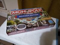 Howden Edition Monopoly Board Game, Brand New& Sealed
