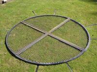 Pond Cover Steel Frame 8' diameter
