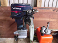 Evinrude 15hp outboard with spare engine for parts