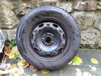 VW Polo/Skoda/Seat 14inch; Steel wheel only tyre is free