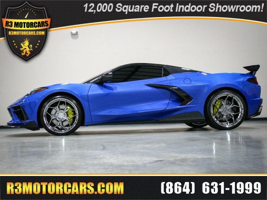 2021 Blue Chevrolet Corvette   | C7 Corvette Photo 1