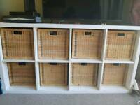 Kallax Storage Unit With Baskets
