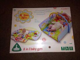 Blossom farm 2 in 1 baby gym