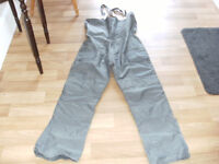 FOR SALE BIB AND BRACE FISHING TROUSERS