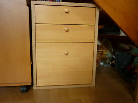 3 drawer wooden cabinet