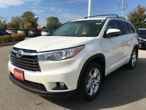 2015 Toyota Highlander Limited - Toyota Certified, 4 New Tires!!