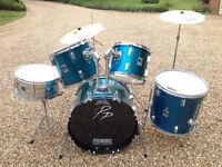 Drum Kit for sale. Good beginner's drum kit in decent condition.