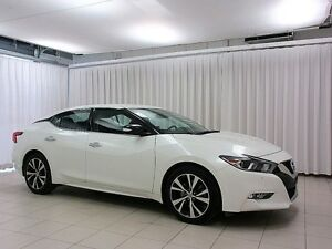 2016 Nissan Maxima SV 3.5 SPORT SEDAN w/ NAV, HEATED LEATHER & R