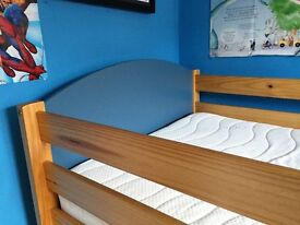 Childrens mid height captains bed