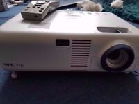 NEC VT46 LCD Projector With Remote Control