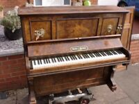 sandon and steedman wallnut inlaid piano can deliver free local £160