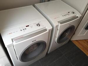 Bosch Laveuse/Secheuse frontale blanche - FrontalWasher/dryer