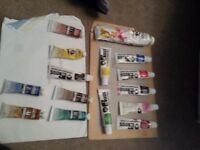 BOB Ross oil paints