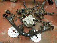 """Ford sierra cosworth 2wd rear axle 7.5"""" diff"""