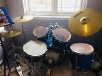 Yamaha Gigmaker Blue Ice Drumkit