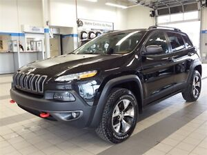 2014 Jeep Cherokee TRAILHAWK/ AWD/CUIR/ TOIT PANORAMIQUE