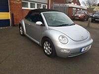 2004 Volkswagen Beetle convertible 1.9 tdi 12 months mot/3 months parts and labour warranty
