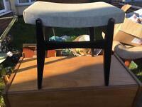 Vintage Limelight dressing table stool