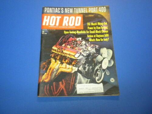 HOT ROD magazine 1969 May - drag racing custom stock car roadster dragster