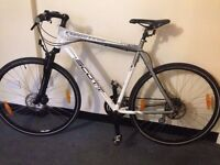 quality scott sportster hybrid road bike disc brakes 24speed shimano gears absolute bargain