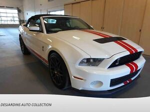 2012 FORD MUSTANG SHELBY GT500 CONVERTIBLE