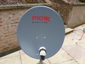 Maxx Digital Satellite Dish