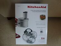 Kitchenaid Food Proccessor attachment for Artisan Mixer, brand new and unused.