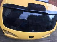 Seat Leon fr boot with spoiler 2006