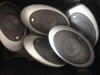 Kef surround sound x5