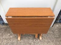 CLEARANCE fold down table FREE DELIVERY PLYMOUTH AREA