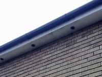 Gutter fascia cleaning traditional way