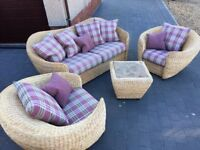 Four Piece sun Room or Conservatory Furniture