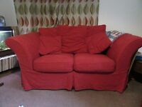 2 seater and 3 seater sofa with removable covers