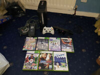 Xbox 360 120GB Bundle (5 Games, Official Controller, Kinect)