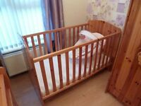 FOR SALE CHILDS COT/ BED NOT BUGGY PLAY PEN PRAM HIGH CHAIR