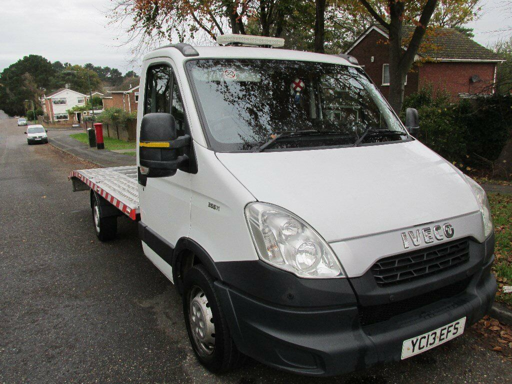 IVECO DAILY LWB RECOVERY TRUCK 2013 LOW MILLAGE ALUMINIUM BODY 6 SPEED NO VAT !!